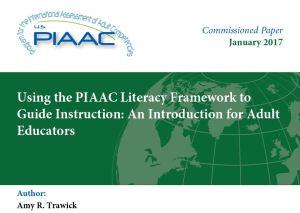 Piaac literacy framework